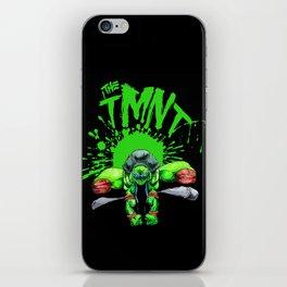 the tmnt iPhone Skin