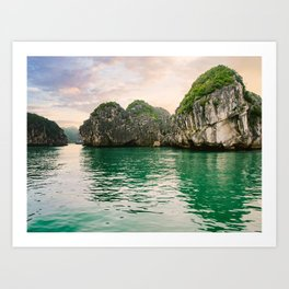 Halong Bay Vietnam Fine Art Print  • Travel Photography • Wall Art Art Print