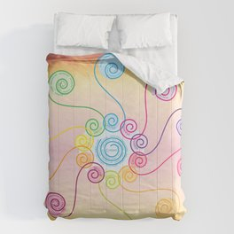 pink muse Comforters