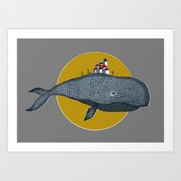 Wale Art Print