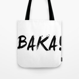Baka Inspired Shirt Tote Bag