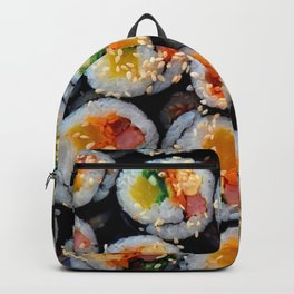Colorful Tasty Sushi Backpack