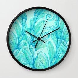 Dreamy Garden Wall Clock