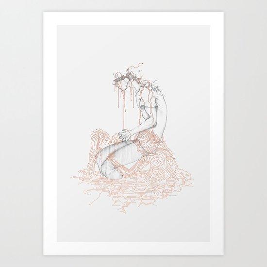 System Overload Art Print