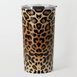 leopard pattern Travel Mug