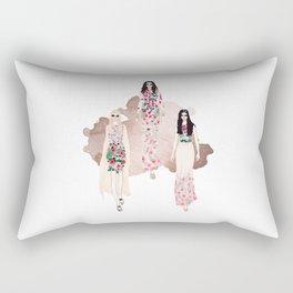 Fashionary - Rose Gold Rectangular Pillow