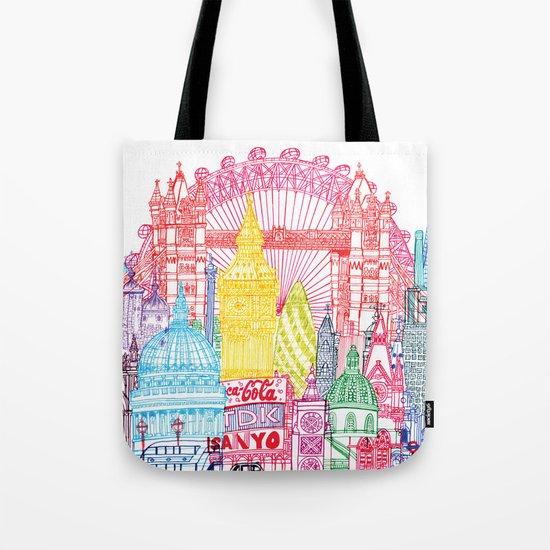 London Towers Tote Bag