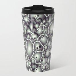 Microscopic Abstract Shapes Travel Mug