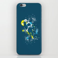 space suit iPhone Skin