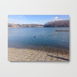 Lake Shawnee Metal Print