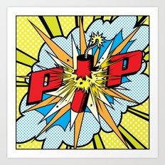 Firecracker POP Art Art Print