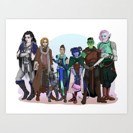The Mightiest of Neins Art Print