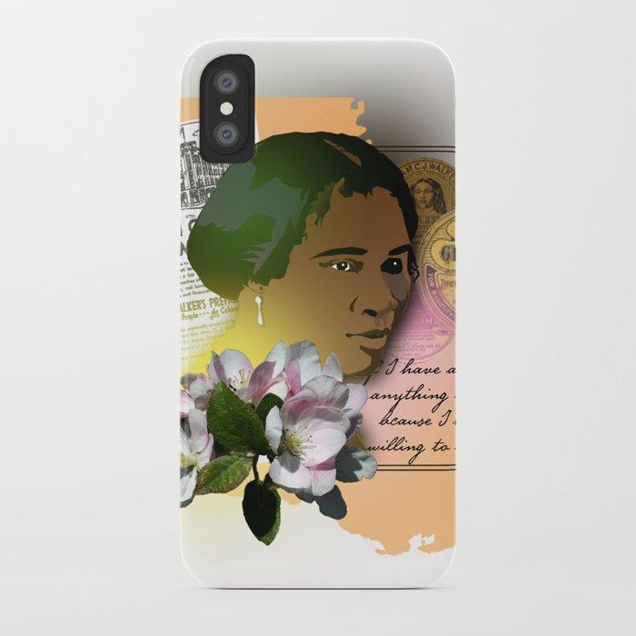 Madame CJ Walker iPhone Case