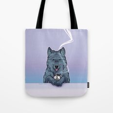 Tea Wolf Tote Bag
