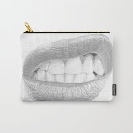 Rabbia / Rage - Aggressive Lips - Mouth Carry-All Pouch