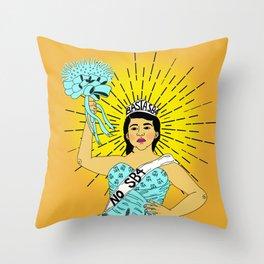 #15ContraSB4 Throw Pillow