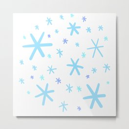 Snow Flurry! Metal Print