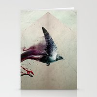 sparrow Stationery Cards featuring SPARROW by MR FLAMA