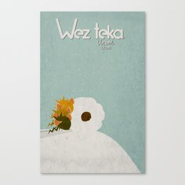 """Rolling in the Deep"" Wezteka Union. Canvas Print"