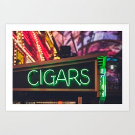 Cigar? Art Print
