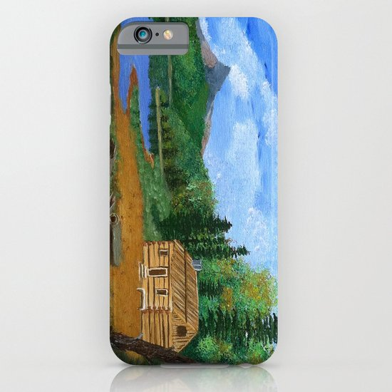 Old cabin iPhone & iPod Case