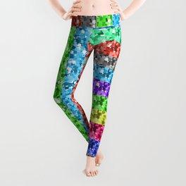 Pixelated colors Leggings
