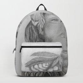 Native American Portrait Backpack