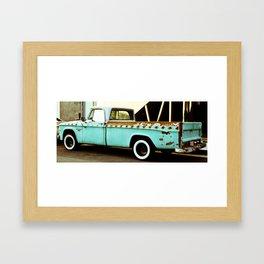 Rusty Dodge (2) Framed Art Print