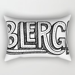 Blerg! Rectangular Pillow