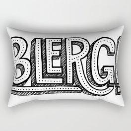 Blerg! Rectangular Pillow