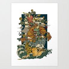 Oni Art Print