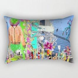 Demographic Rectangular Pillow