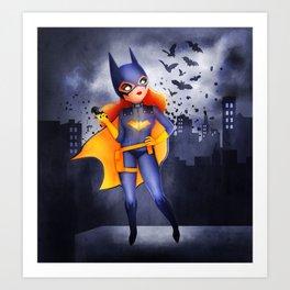 Batgirl Art Print