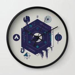 Crescent Wall Clock