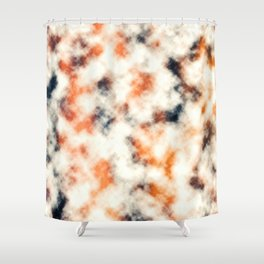 Multicolored Abstract Print Shower Curtain