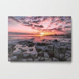 2016 Pink Kauai Sunset Metal Print
