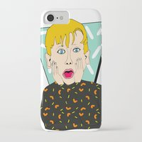 home alone iPhone & iPod Cases featuring Home Alone by Elena Éper