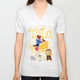 Tale as old as time Unisex V-Neck