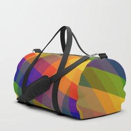 CRISS CROSS RAINBOW... Duffle Bag