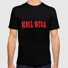 Kill Bill Mens Fitted Tee Black X-LARGE