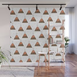Volcano Pattern #1 Wall Mural