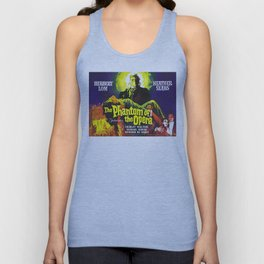 vintage horror movie poster Unisex Tank Top