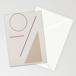 a series of shapes #1 Stationery Cards