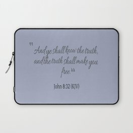 Truth will make you free Laptop Sleeve