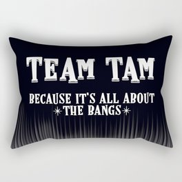 Team Tam Rectangular Pillow