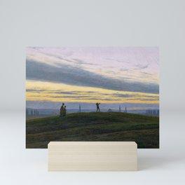 Caspar David Friedrich - The Evening Star Mini Art Print