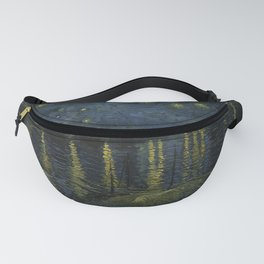 Starry Night Over the Rhone by Vincent van Gogh Fanny Pack