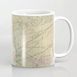 Vintage Map of Buffalo NY (1866) Coffee Mug