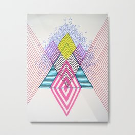 IC,LD Metal Print