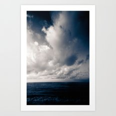 summer ver.navyblack Art Print